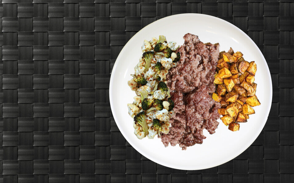 MealPro Ground Beef Hash