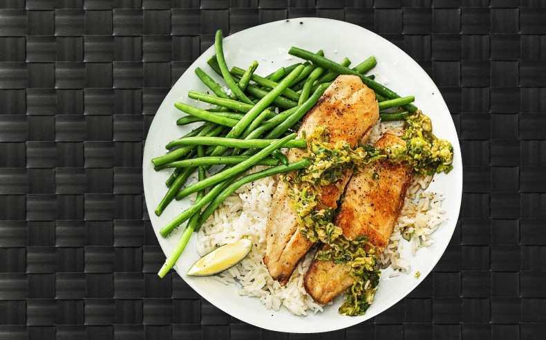 MealPro Grilled Tilapia Food To go